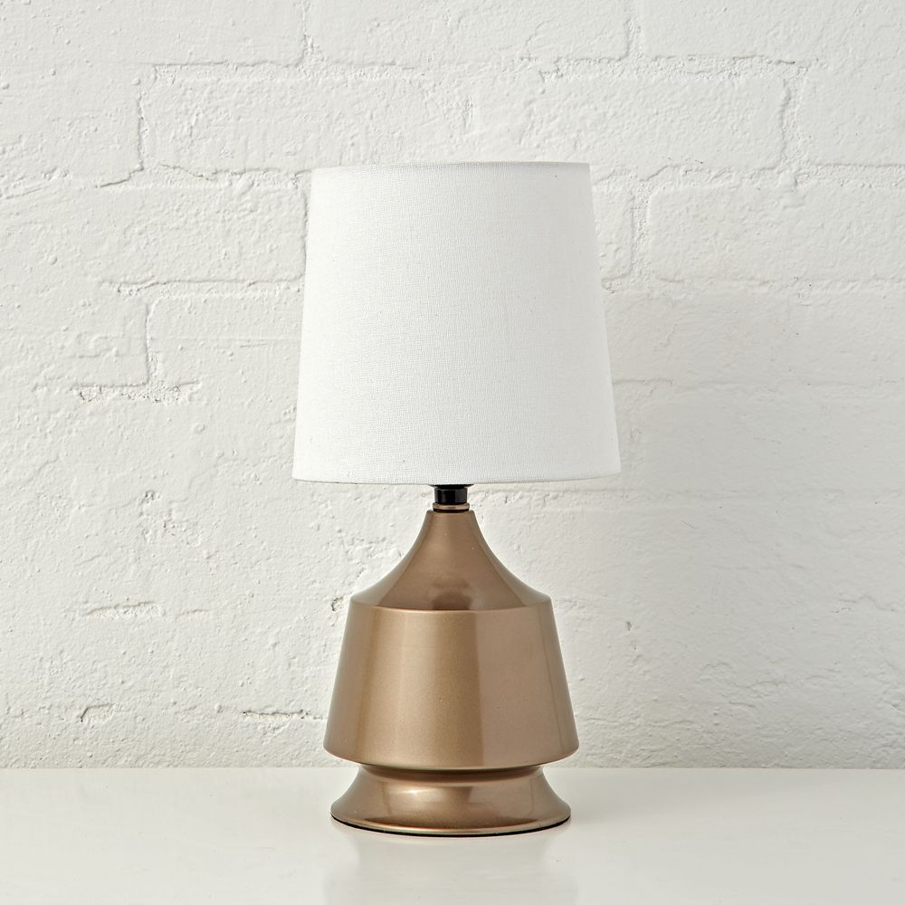 Gold Tabletop Touch Lamp With Images