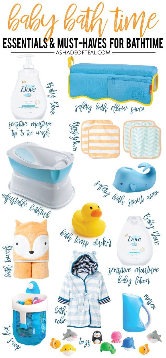 baby bath #baby I am partnering with Baby Dove. Make baby bath time stress free with this list of Baby Bath Time Essentials! It has everything needed, from the bathtub to Baby Dove cleansers amp; lotions made especially for little ones! #DovePartner #BabyDoveLove