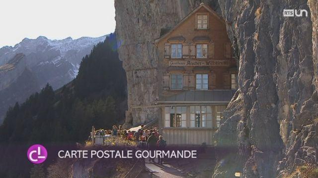 Le plus beau restaurant du monde est à Appenzell Rhodes-Intérieures.