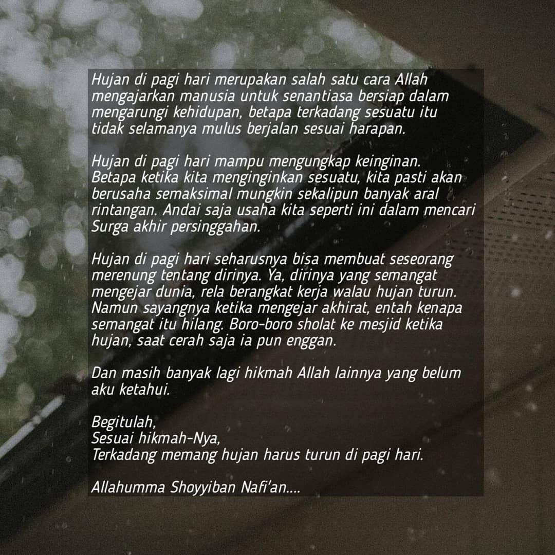 Image May Contain Text Hujan Kutipan Manusia