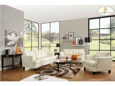 Shop For Homelegance Sofa, 9994WHT 3, And Other Living Room Sofas At  Furniture