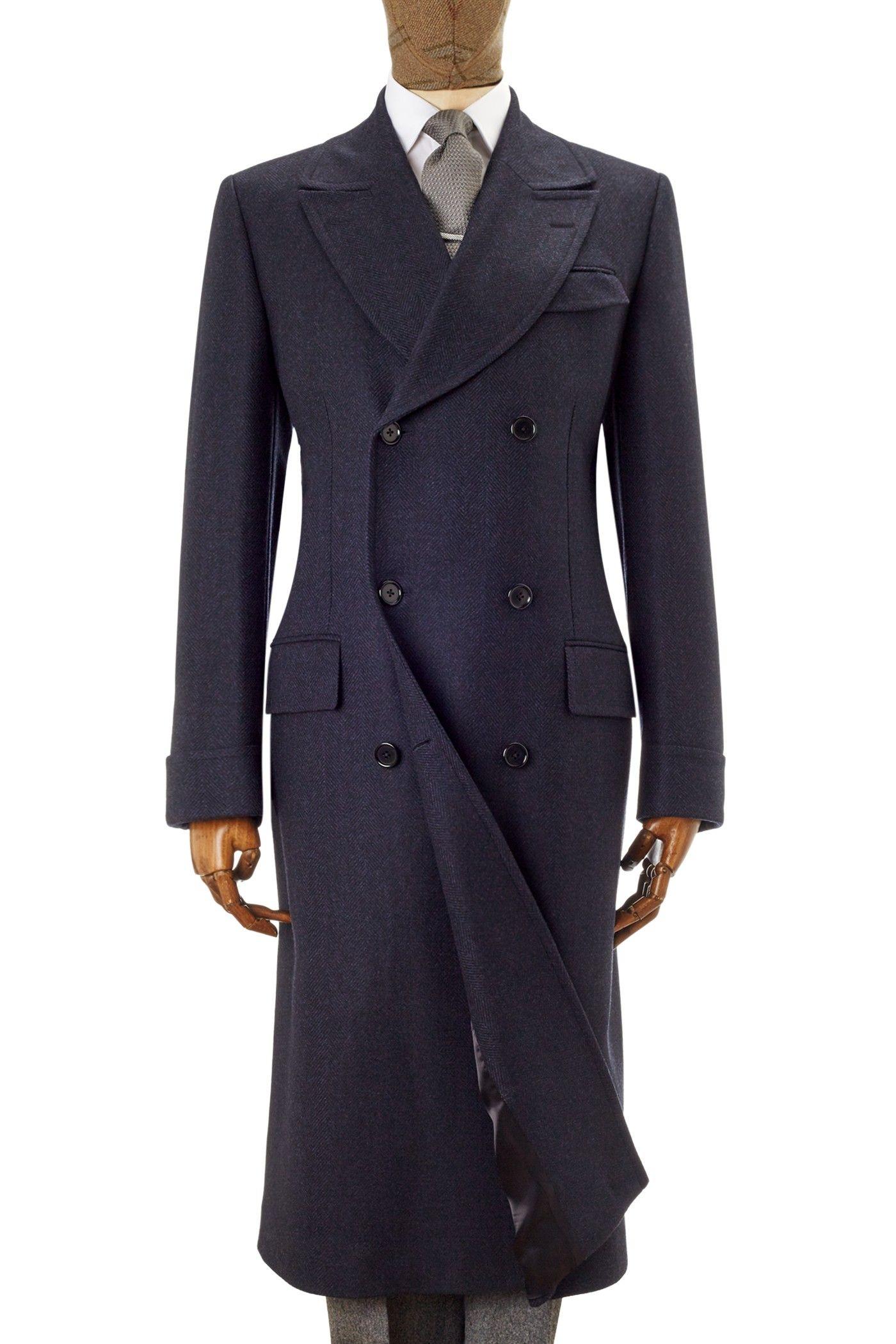 Armstrong Herringbone Coat Navy British Pounds Designer Clothes For Men Mens Dress Coats Mens Clothing Styles [ 2100 x 1400 Pixel ]