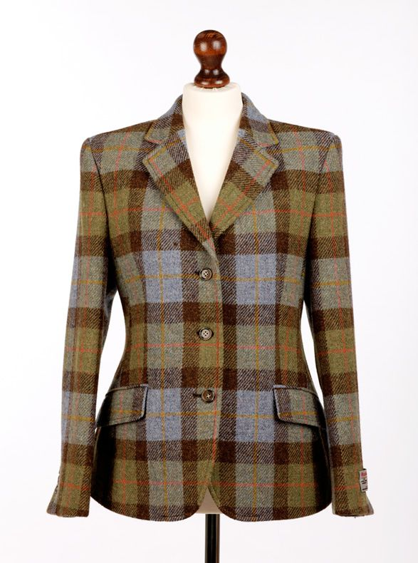 ladies harris tweed hacking jacket | For the Rider | Pinterest ...