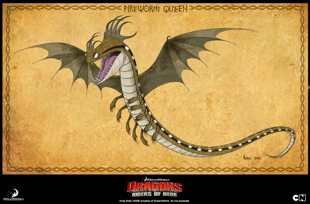 How To Train Your Dragon Fireworm Queen Jrnxqby | Kids birthday ...