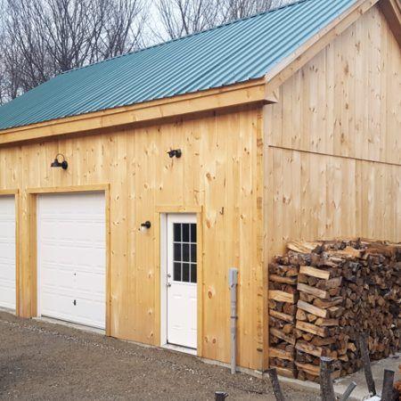 2 car garage kits timber frame garage tiny cabins and modern