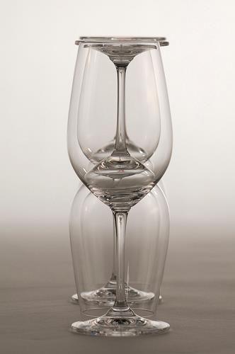 Wine glass art :-)
