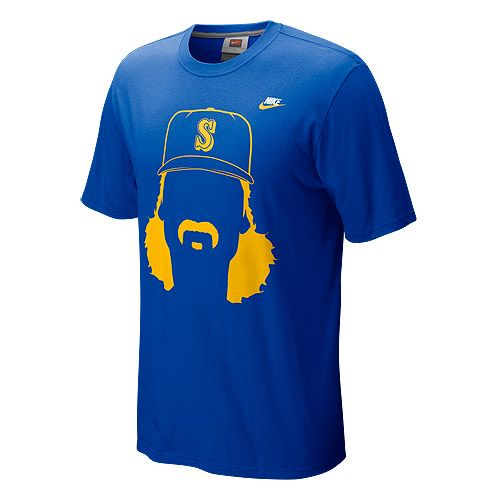 Seattle #Mariners Cooperstown Hair-itage Randy Johnson Player T-Shirt by  Nike $27.99