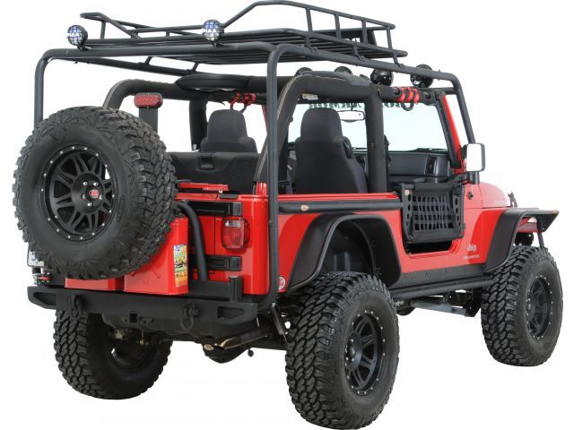 Exceptional Body Armor Roof Rack Base Kit | Jeep Parts And Accessories | Quadratec