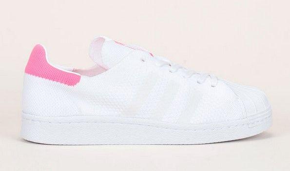 adidas superstar blanche et rose