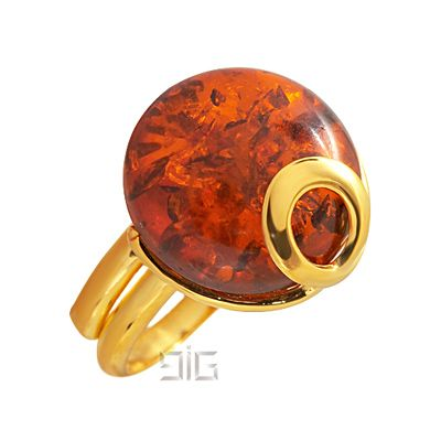 Δαχτυλίδι με κεχριμπάρι - Δαχτυλίδια με κεχριμπάρι