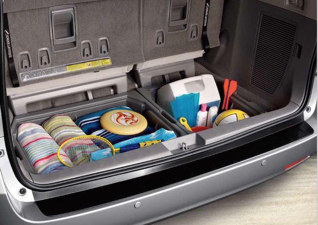 Toyota Sienna Accessories Minivan Organization Van Organization