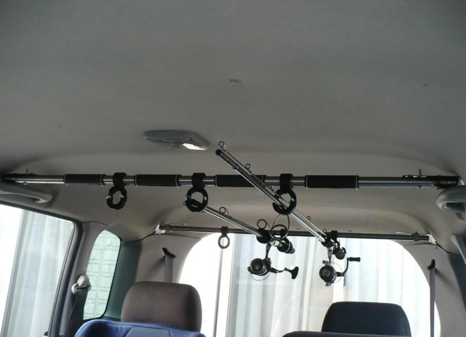 K Maru Activity 車載ロッドホルダー 自作 ロッドホルダー ホルダー ナフコ