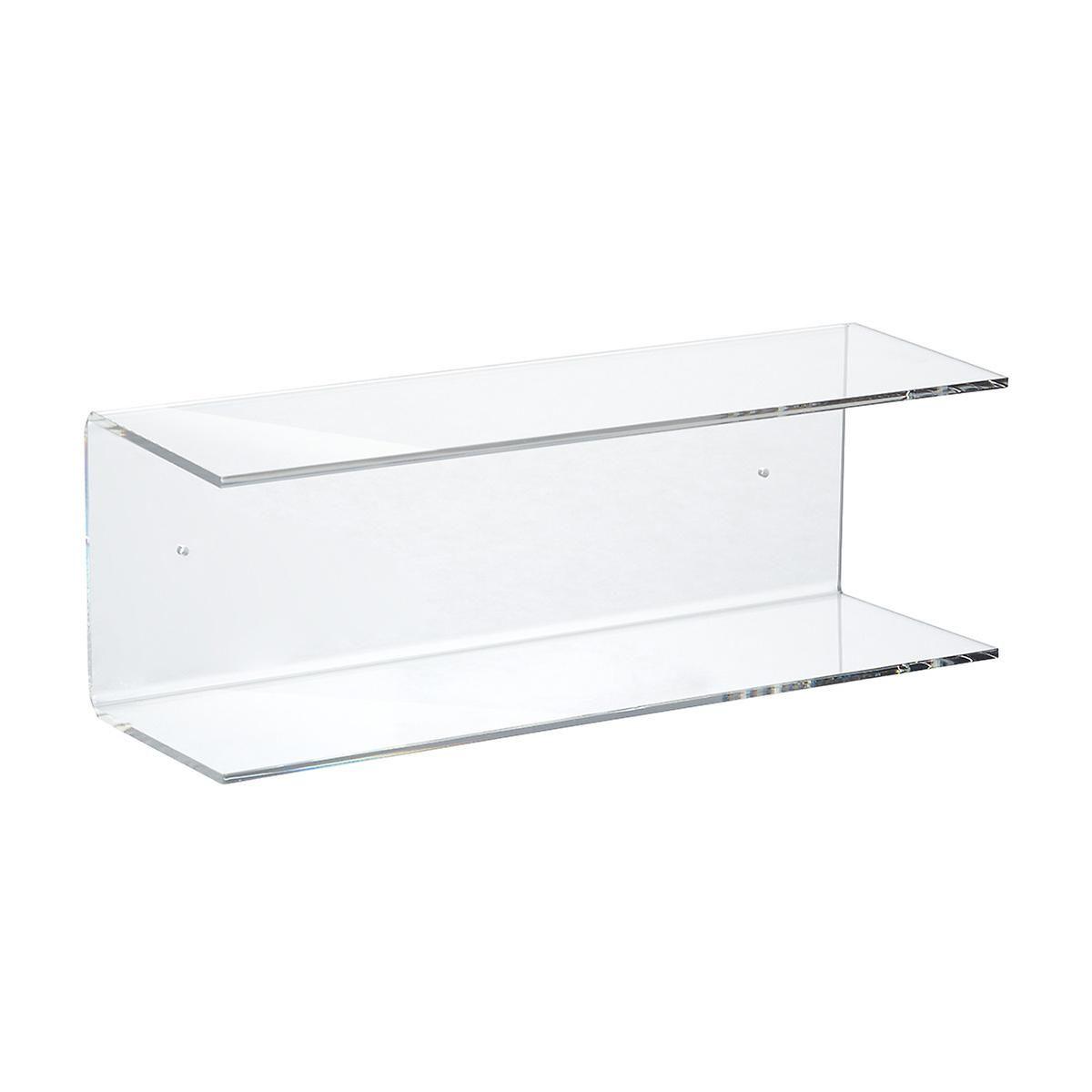 Double Acrylic Wall Shelf Acrylic Wall Shelf Acrylic Shelf Wall Shelves
