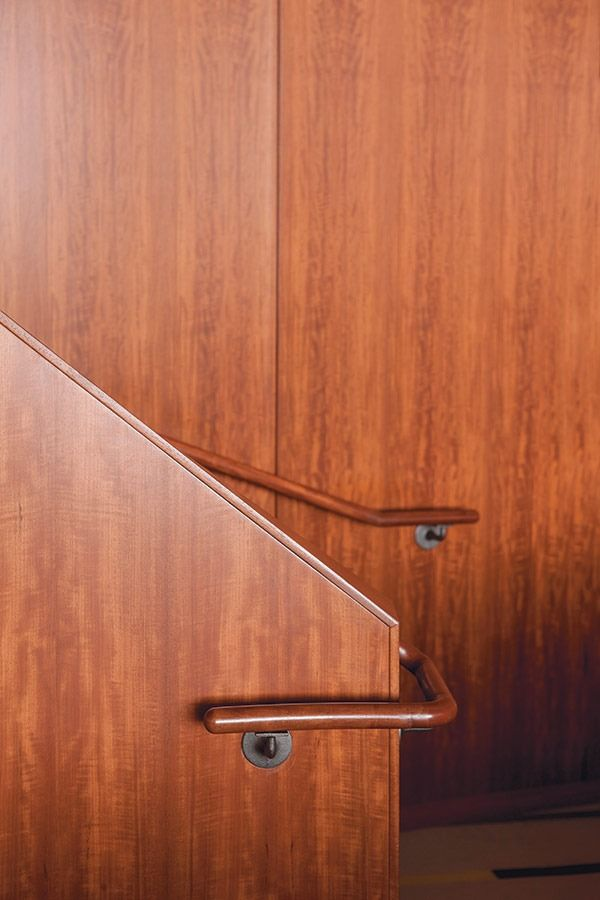 Super Finn Juhl Staircase From The United Nations Trusteeship Home Interior And Landscaping Ponolsignezvosmurscom