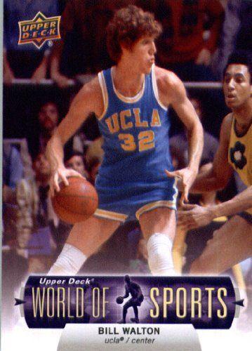 2011 Upper Deck World of Sports Basketball Card #58 Bill Walton UCLA Bruins - ENCASED Trading Card by 2012 World Of Sports. $2.95. 2011 Upper Deck World of Sports Basketball Card #58 Bill Walton UCLA Bruins - ENCASED Trading Card