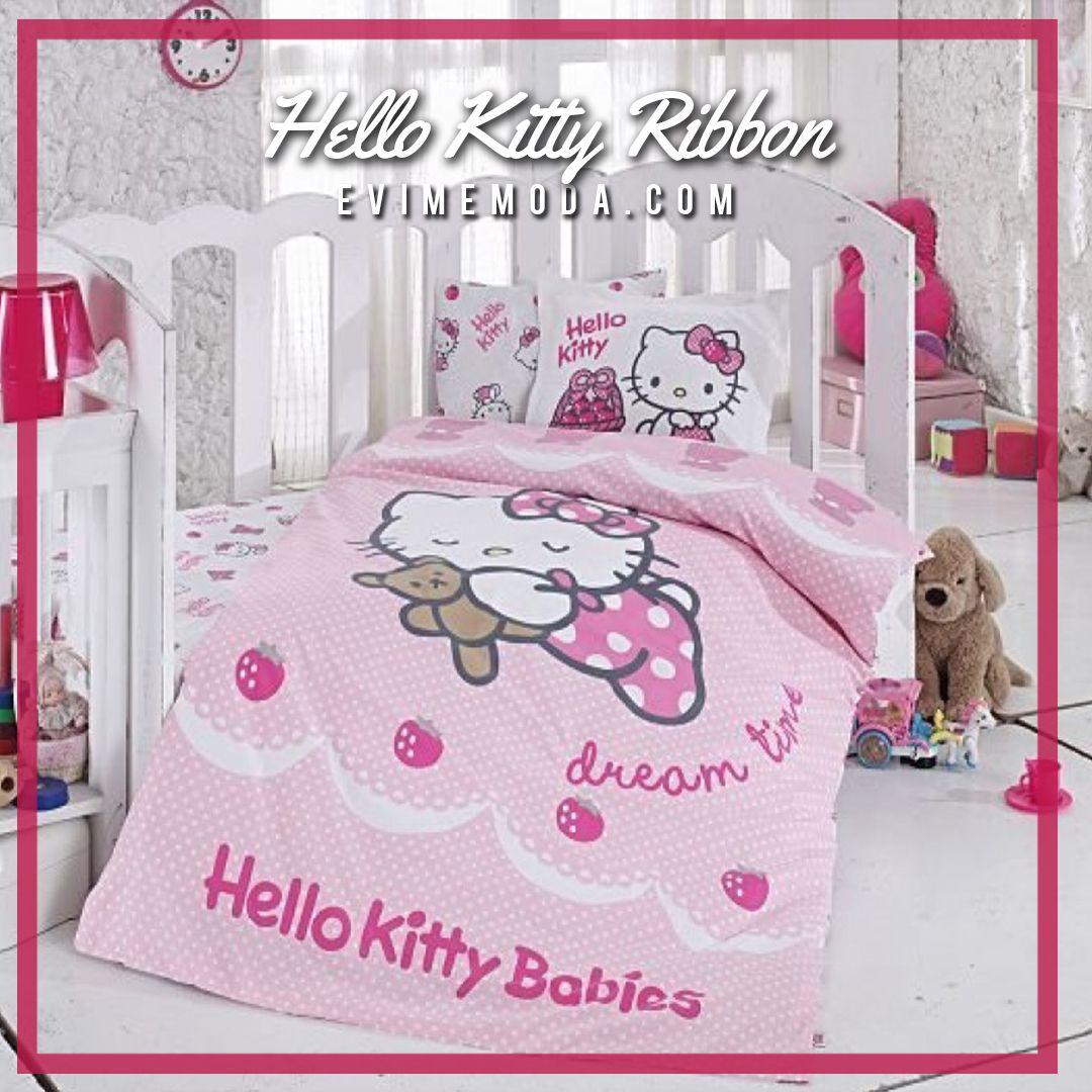 Hello Kitty Bebek Nevresim Tak M