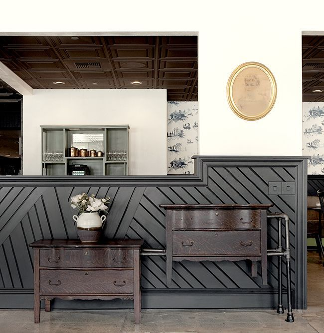 Contemporary RESTAURANT Wainscoting - Google Search