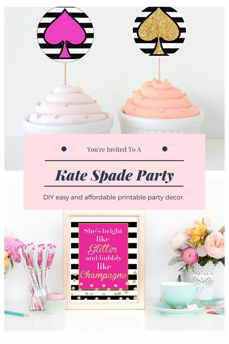 Host The Perfect Kate Spade Themed Party With These Fun And Easy