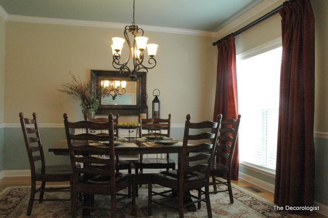 Dining Room Color Schemes Chair Rail paint colors for dining room with chair rail | bedroom and living