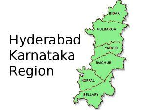 full procedure for applying for Hyderabad Karnataka
