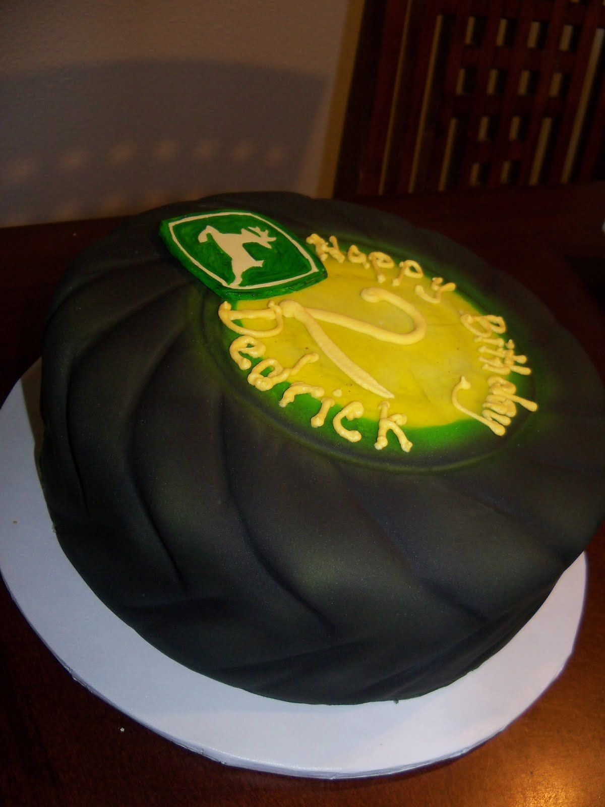 Debbies Cakes and Sweets John Deere tractor cake cakes I wanna