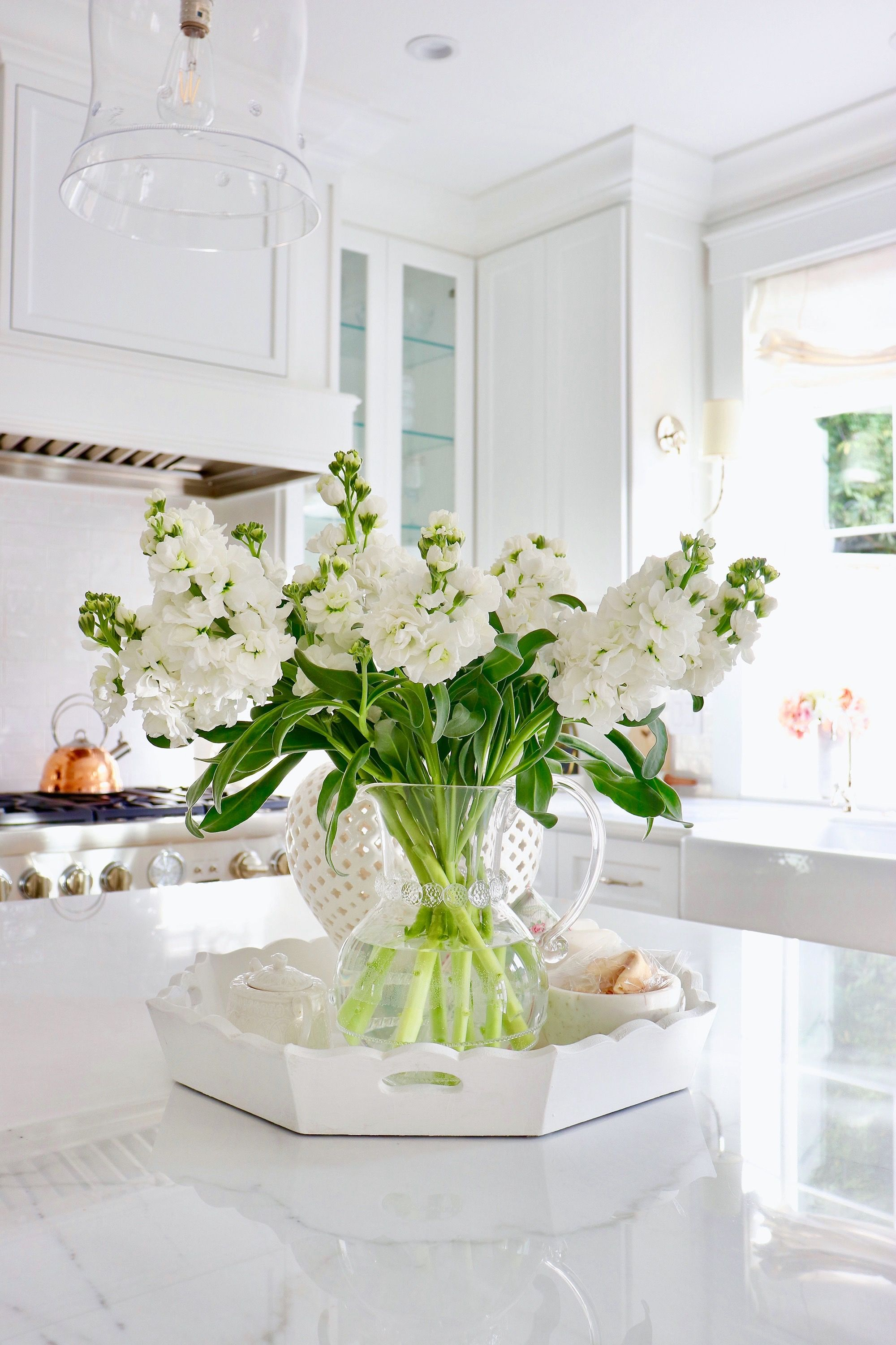Brightening your Home with January Florals - where to get the best faux florals, and how I keep my real flowers alive.