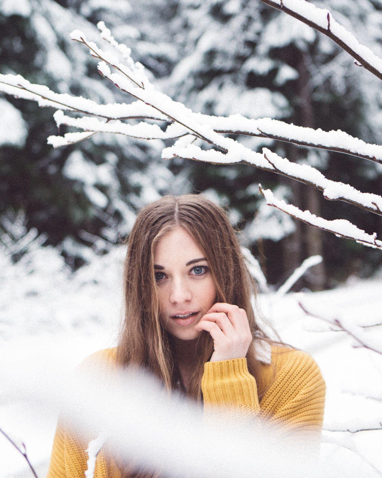 позы для фотосессии зимой в парке наши