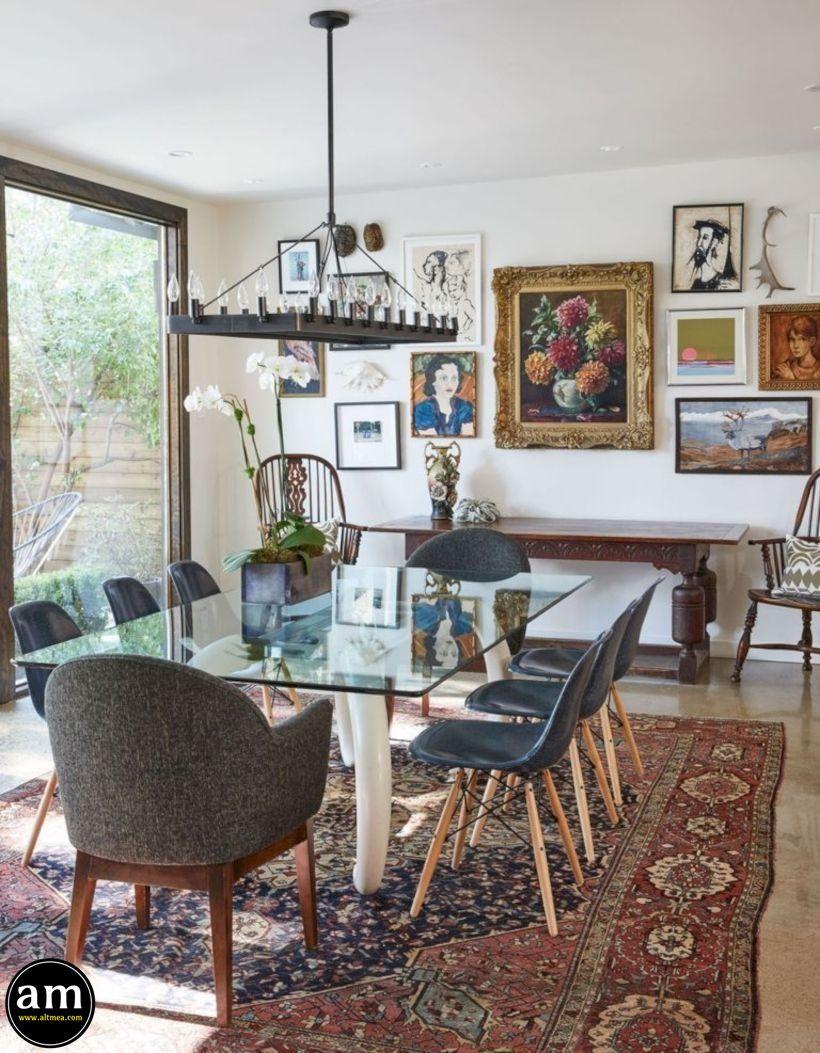 40 Popular Farmhouse Dining Room Decor Ideas Dekoration - Ideas-dining-room-decor-home