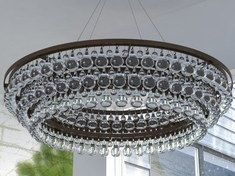 Arctic Pear Chandelier Round 120 3d Model By Design Connected Lamper