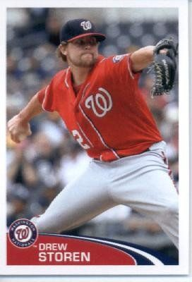 2012 Topps Baseball MLB Sticker #199 Drew Storen Washington Nationals by Topps Stickers. $1.95. Look for thousands of other great sportscards of your favorite player or team. Sticker is in MINT condition and shipped in a protective topload holder. Single 2012 Topps MLB Sticker. MLB Baseball Collectible Sticker From Topps