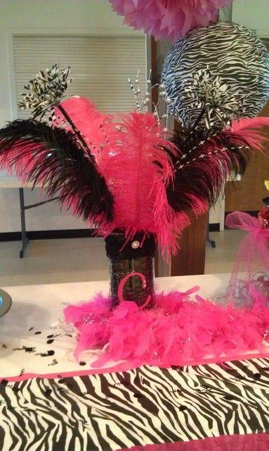 Zebra Hot Pink Birthday Party Ideas Birthdays 13th birthday