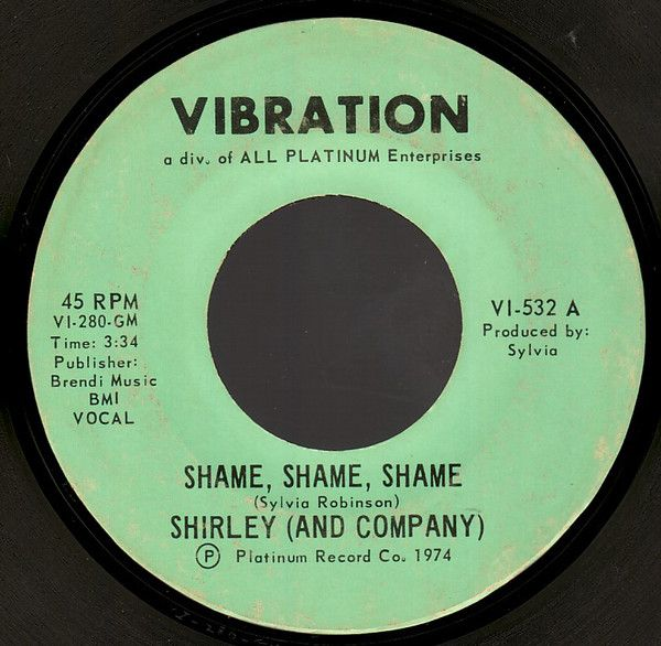 Oldies First Dance Songs: Shame, Shame, Shame (Vinyl) At