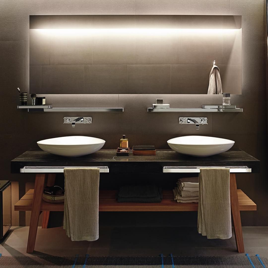 AXOR Citterio E, designed by world renowned designer Antonio Citterio.  #AXOR #AXORnordic #AntonioCitterio #design #interior #interiordesign #interiordecor  #bathroom #bathroomdesign #bathroominspo #interiorinspirasjon #inredning #sisustusinspiraatio