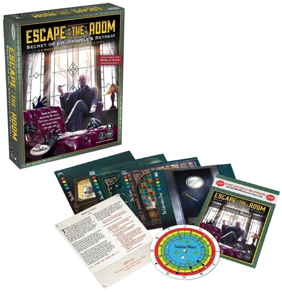 A takehome game of Escape the Room perfect for people who