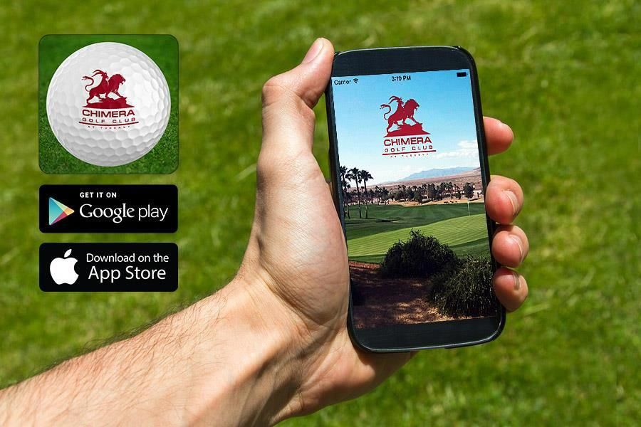 Great News ! Our Chimera Golf Club App is available now