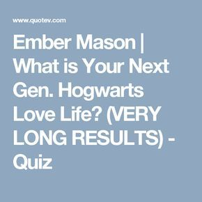 What Is Your Next Gen Hogwarts Love Life Very Long Results Harry Potter Life Quiz Harry Potter Imagines Harry Potter Quiz