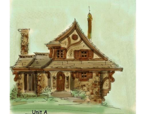 Fantasy House Plan Gretel Aboveallhouseplans Com Storybook House Plan Unique House Plans Fantasy House