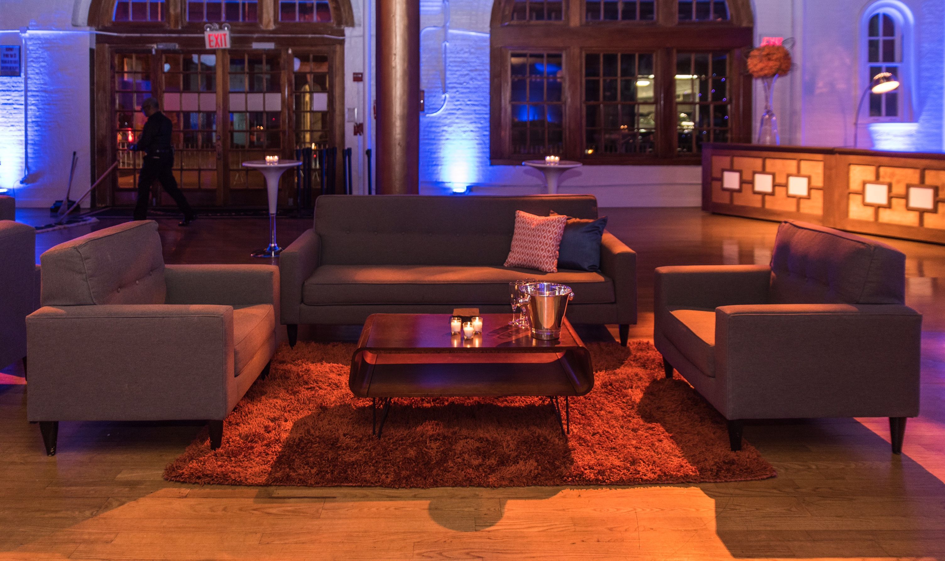 Hidden Figures Premiere After Party using the Lloyd Collection from designer8*