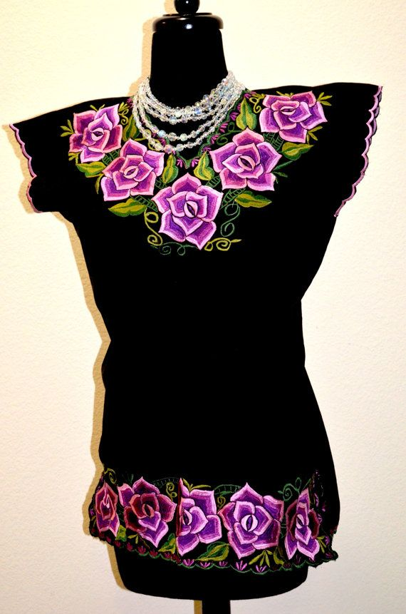 Reserve listing for adrischvemer Mexican TEHUANA Dress Huipil and ...