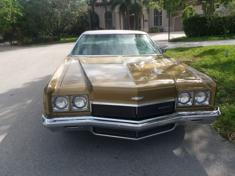 The Day I Picked Up My 1972 Impala 2 Door Custom Hardtop With Only 49 000 Miles Chevy Impala Impala Old American Cars