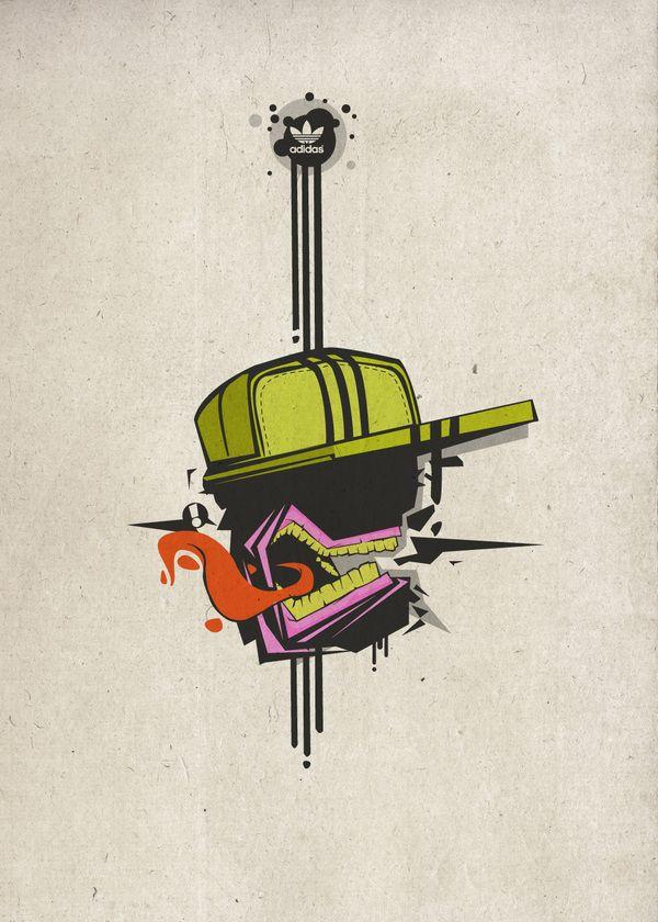 vector_art by Konrad Kirpluk, via Behance
