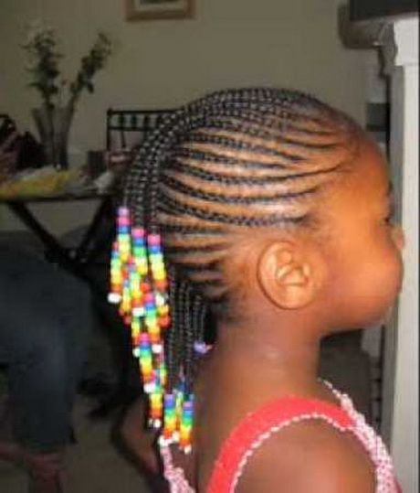 Kid Braided Hairstyles Cute Bright Any Color Or Type Of Hair