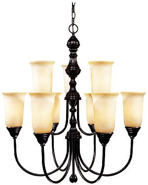 British Colonial Style Chandelier