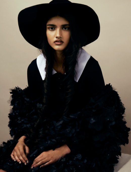 Neelam Johal for Wonderland February/March 2014, photographed by Liam Warwick