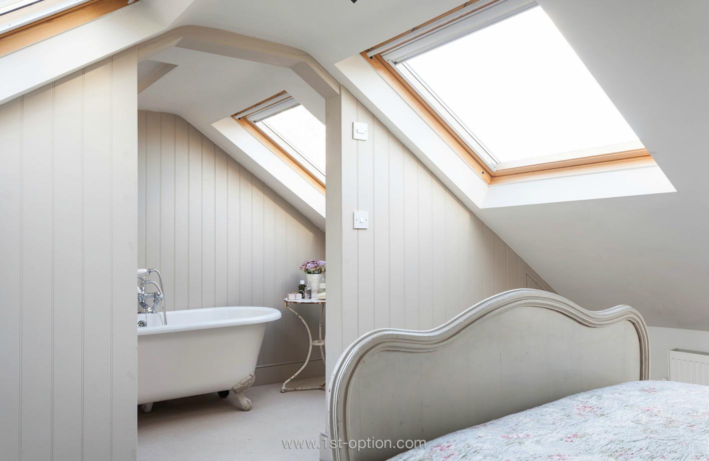 Ensuite badezimmerdesign loft conversion bedroom with en suite  the best attic home design