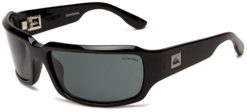 ec38bb8a26a4 Quiksilver Mens Fluid II QEMP006 Polarized Wrap Sunglasses
