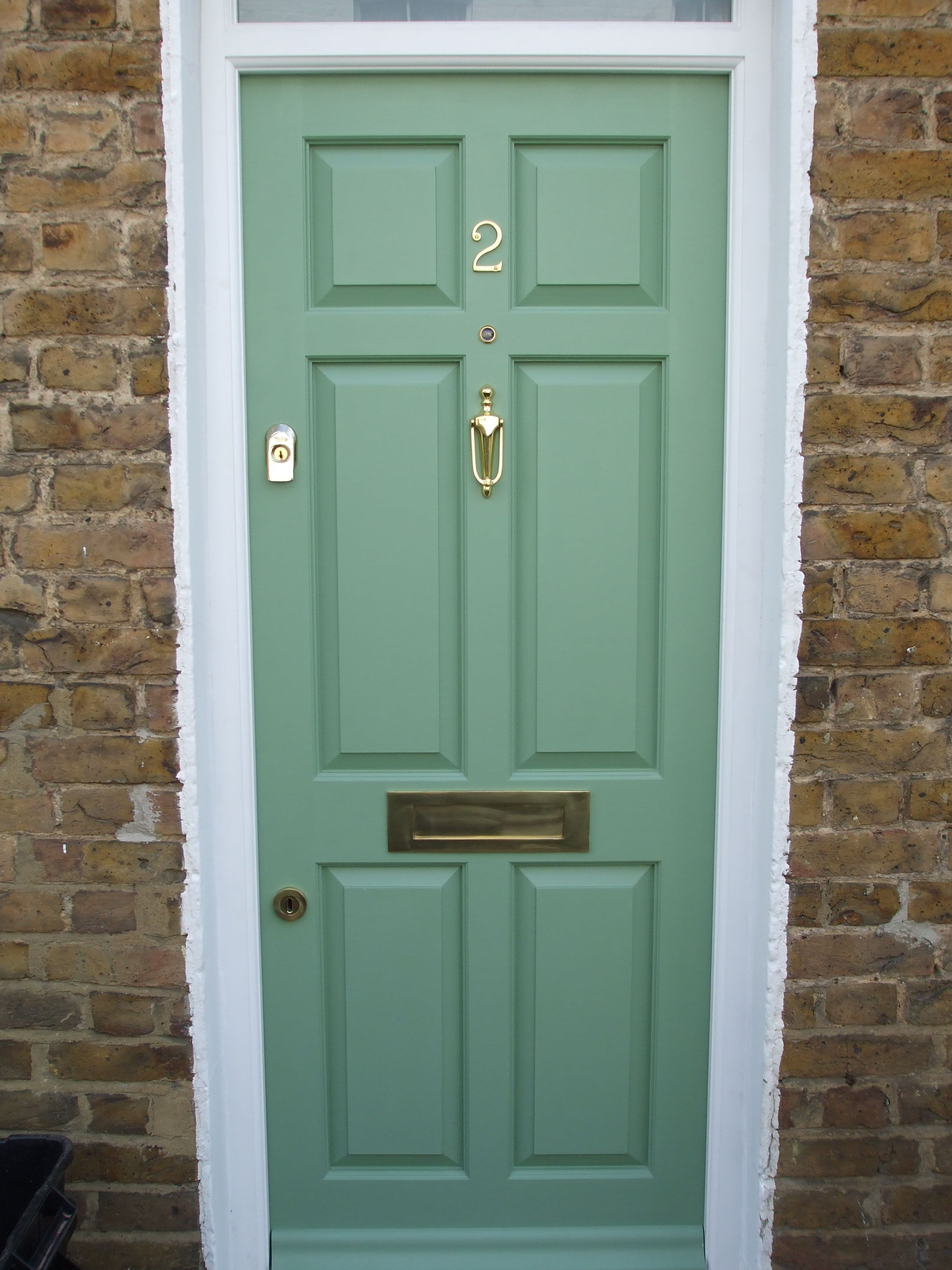 Gorgeous Colour On This 6 Panel Door The Client Was Very Pleased With How It Turned Out Wooden Sash Windows Window Renovation Casement Windows