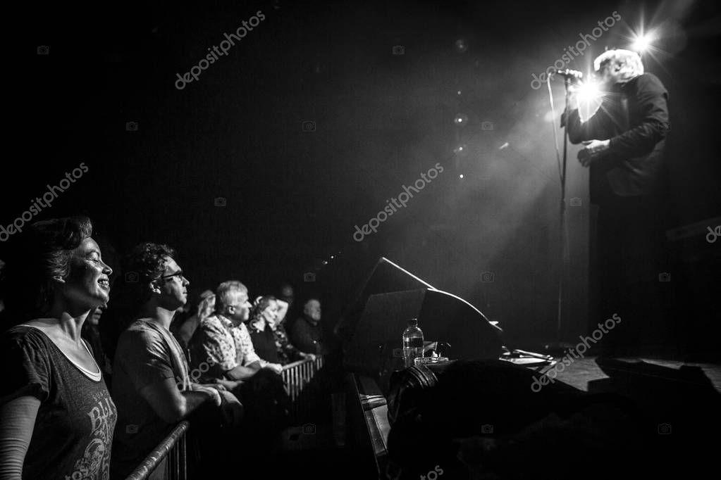 Amsterdam Netherlands February 2016 Concert Belgi  Stock Photo