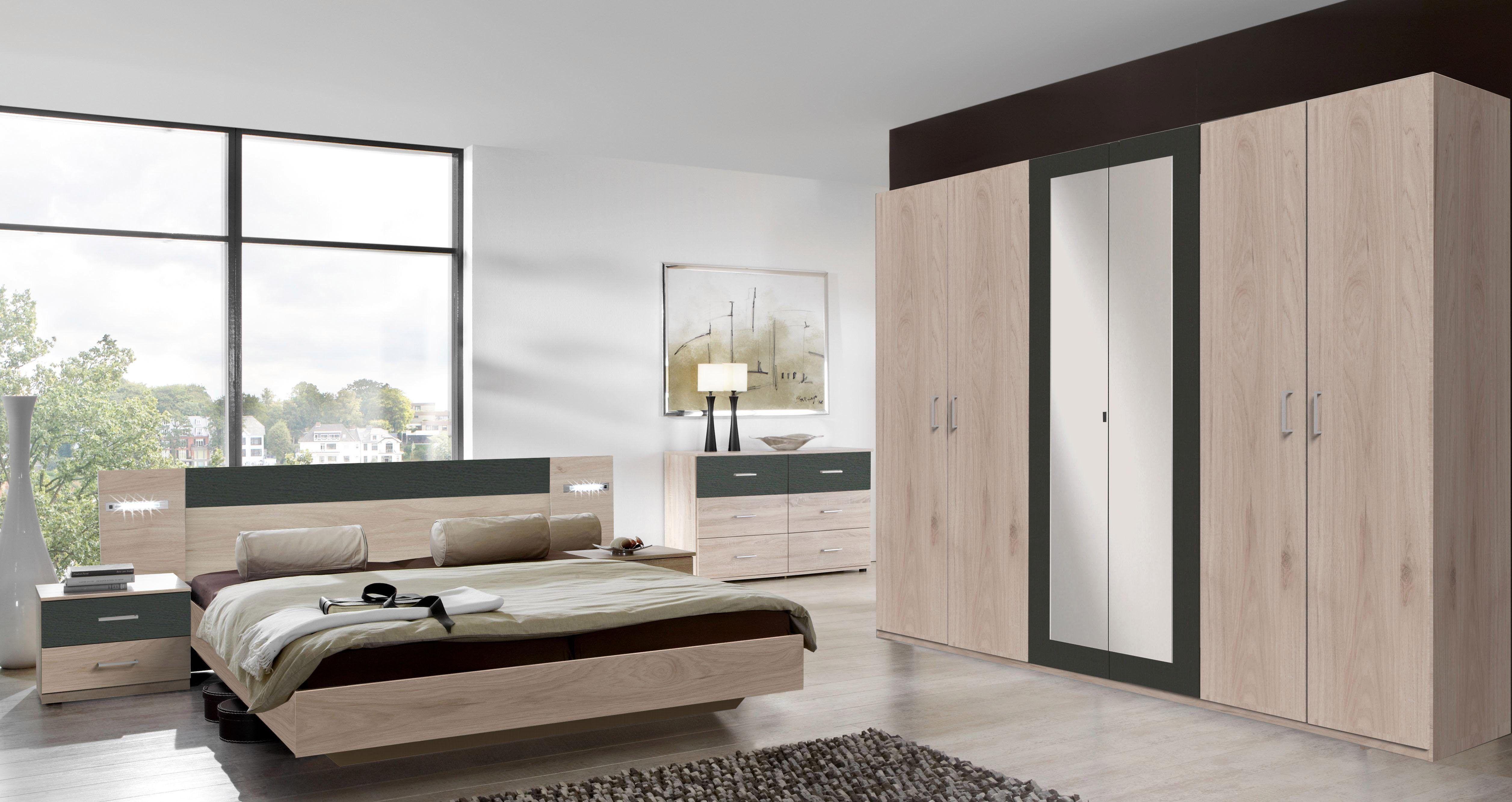 Wimex Schlafzimmer-Set (4-tlg.), mit Spiegeltüren Jetzt bestellen ...