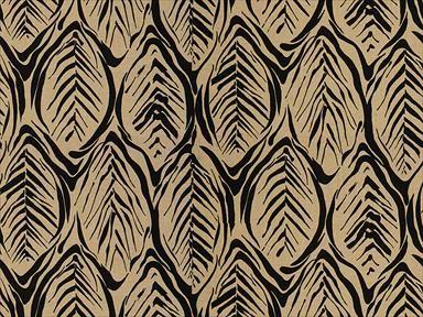 Brunschwig & Fils TROPICO BLACK 8014109.8 - Brunschwig & Fils - Bethpage, NY, 8014109.8,Brunschwig & Fils,Print,Beige, Black,Black, Beige,Up The Bolt,Maisonnette,USA,Tropical,Multipurpose,Yes,Brunschwig & Fils,No,TROPICO BLACK